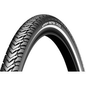 """Michelin Protek Cross Clincher Tyre 28"""" Reflex, black"""
